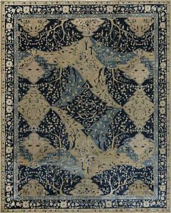 Antique Indian Lahore Blue Carpet BB7477