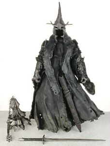"""Lord of the Rings MORGUL LORD WITCH KING 7"""" Action Figure LOTR ROTK ToyBiz 2003"""