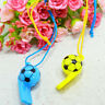 2X Colourful football Whistles / Classic Pea Whistle - Referee / World Cup .UK