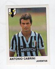 figurina CALCIATORI CALCIO FLASH 1985 NUMERO 143 JUVENTUS CABRINI