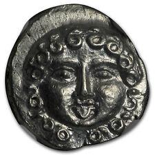 Thrace Apollonia Pontica AR Drachm (450-400 BC) MS NGC (Vault)