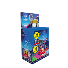 2020-21 Topps Champions League Sticker 30 Pack Box 300 Stickers Total!