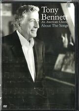 TONY BENNETT: An American Classic - About The Songs (2007, DVD) NEW - FREE SHIP!