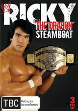 "WWE -  Ricky ""The Dragon"" Steamboat (DVD, 2010, 3-Disc Set)"