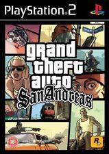 Grand theft auto San Andreas PS2 Playstation 2
