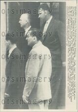 1958 France Gen Charles de Gaulle With Pierre Pflimlin Press Photo