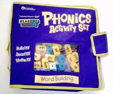 Learning Resources Phonics Activity Set Reading Rods Word Building Purple Kit