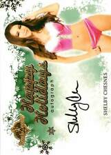 Shelby Chesnes 2013 Bench Warmer Holiday Autograph Auto (1. Squiggle Y)