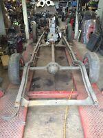 Stenhoj Major 3500kg Spare Parts Breaking 4 Post Lift Ramp Tails