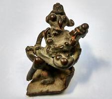 Ancienne divinité hindoue mère à l'enfant? Art tribal Inde 18e