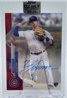 Nico Hoerner 2020 Topps Clearly Authentic Rookie Autograph Auto Red /50 CUBS HOT
