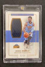 2016-17 Jamal Murray National Treasures Rookie Materials RC #22/25 Near Mint