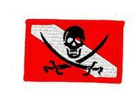 Patch ecusson brode thermocollant drapeau scuba plongee tete de mort diver