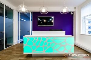 Glass Wall profesionaly installed by KOVA Partitions