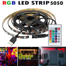 3M RGB 5050 Waterproof LED Strip light SMD 5V USB 24 Key Remote Kit Lighting