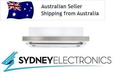 Euromaid 60cm 600mm Stainless Steel 3 Speed Slide Out Rangehood- RS6S