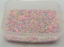 10000 Mixed Color Ceylon Glass Seed Beads 1.5mm (12/0) + Storage Box