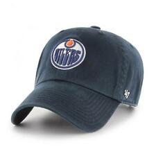 NHL Edmonton Oilers Cap Basecap 47Brand adjustable Baseballcap cleanup navy
