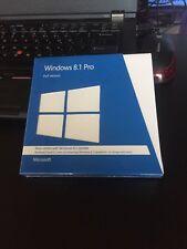 Free Shipping! MICROSOFT WINDOWS 8.1 PRO 32/64 BIT FULL VERSION DVDs