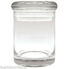 New Glass Stash Glass Nug Jar Airtight Smell-Proof Cannaline Small 1/8 to 1/4