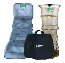 Dinsmores DUO Syndicate carpa XT 2 da pesca keepnets PACCO 8FT WITH