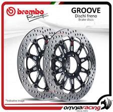 Coppia dischi Freno anteriore Brembo The Groove 300mm per Kawasaki Z750 2007>
