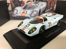 "Porsche 917 #21 Movie ""Le Mans"" Steve McQueen alias Michael Delaney 1:43 Spark"