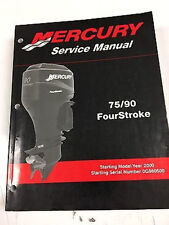 Mercury Mariner Service Shop Repair Manual 75 90 Hp 4 Stroke 90-858895R02