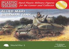 WW2V20004 20MM ALLIED SHERMAN M4A1 - PLASTIC SOLDIER COMPANY - WW2 TANK AMERICAN