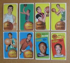 1970-71 TOPPS BASKETBALL CARD SINGLES COMPLETE YOUR SET PICK CHOOSE