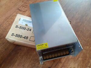 Led Power Supply Model:S 500-12 , 12V , 40A , Brand New FREE POSTAGE