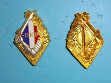 b2398 Korean War Indochina French Battalion  Beret badge ONU United Nations