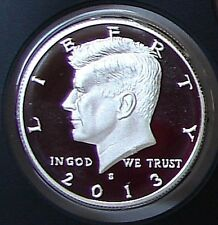 2013 S SILVER PROOF GEM CAMEO  KENNEDY HALF DOLLAR - MINT CONDITION k4