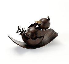 oiseau sur la Bascule Métal - style antique 20037-2