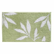 New Modern Leaf Leaves Bath Bathroom Shower Floor Rug Mat Carpet Free Shipping