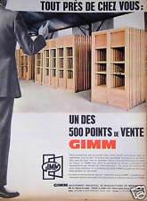 PUBLICITE GIMM TOUT PRÈS DE CHEZ VOUS UN DES 500 POINTS DE VENTE EN FRANCE
