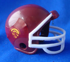 "team mini football helmet USC Trojans SC miniature 1½""x1½""x1¾"""