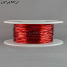 Magnet Wire 16 Gauge AWG Enameled Copper 250 Feet Coil Winding & Crafts 2Lbs Red