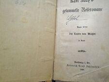 Karl May - Im Lande des Mahdi 1896 Band XVII ges. Reiseromane - F.E. Fehsenfeld