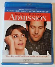 Admission (2013) Blu-ray Movie NEVER VIEWED No DVD/Digital Code Included