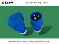 230v 16A IP44 Plug And Socket - Caravan Hook-Up Cable Re-Fresh