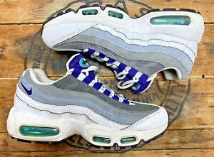 Nike Air Max 95 Grape Women's Size 7 Purple Grey White running shoes 307960-109