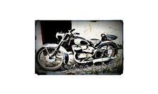 1954 Dkw Rt175 Bike Motorcycle A4 Retro Metal Sign Aluminium