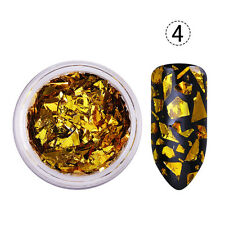 Irregular Glitter Nail Flakes Paillette Sequins Decor Tips Shell DIY Manicure