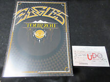 Eagles 2011 World Tour Book w Japanese Ticket Stub Don Henley Glenn Frey Program