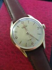 Vintage Longines Small Seconds gold Dial Manual Wind Men's Wristwatch