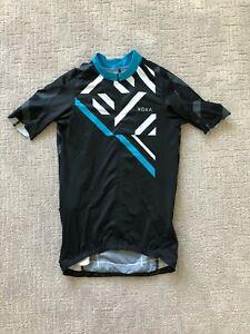 ROKA Cycling Jersey - Blue/White/Black - Men's Small/Tall