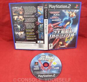 STEEL DRAGON EX - USED NO MANUAL - PLAYSTATION 2 PS2 - UK