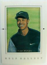 2001 Upper Deck UD Golf Gallery TIGER WOODS ROOKIE RC #GG4, Sharp Insert !