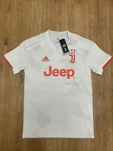 Adidas Juventus 19/20 Away Jersey DW5461 Men's Size Medium Raw White/Orange NWT